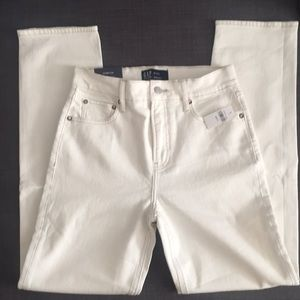 NEW Gap Factory High Rise Straight Jeans